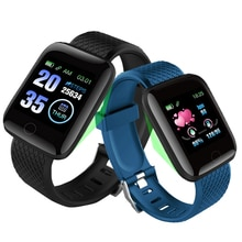 D13 SmartWatch moniteur de fréquence cardiaque pression artérielle Sport Bracelet étanche Fitness Tracker activité montre intelligente 116 Plus