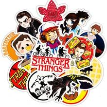 30Pcs/Lot Stranger things waterproof Film Stickers PVC MacBook Sticker For Kid Toy Skateboard Luggage Laptop Car Home Decor