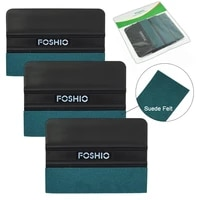 foshio 36pcs wrapping squeegee for film cleaning carbon fiber scraper sticker remover window tint glass vinyl applicator tools