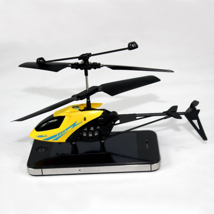 2Ch Micro Electric Plastic RC Helicopter Mini Radio Aircraft Remote Control Toys 3.7V Lithium Rechargeable Battery LED Flash 901 enlarge