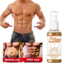 1pcs Fitness Slimming Slim Cream Powerful Abdominal Strong Anti Burn Spray Loss Weight Women Men Mus