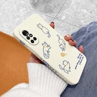 interesting cat pattern phone case for huawei nova8 8pro 8se nova 7 7pro 7se 6 6se 5 5pro 5z 5i 5ipro 5t 4 4e silicone cover