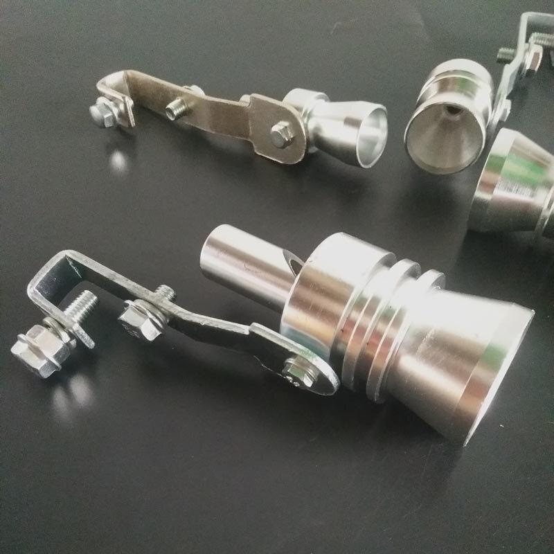 Escape de coche y motocicleta silbato en tubo cuerno de turbina para Porsche Cayenne Macan S Panamera Cayman Carrera Porsche911 918