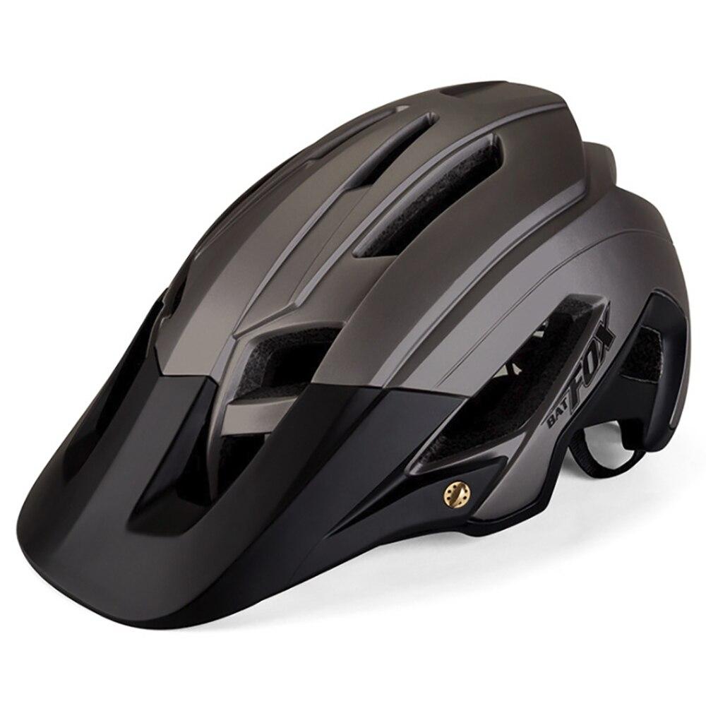 BATFOX-casco de ciclismo para hombre, casco para ciclismo de montaña DH AM