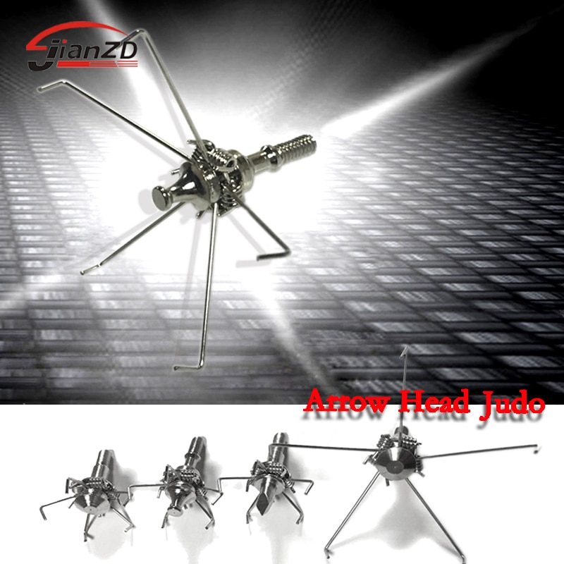 6/12pcs Judo Bird Hunting Arrow Heads 100 Grains 4mm Screws Stainless Steel Arrow Small Animal Game Archery Bow Free Shipping
