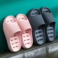 bath sandals women summer 2021 candy color soft thick sole home shoes female indoor sofa slides lovers non slip mens slippers