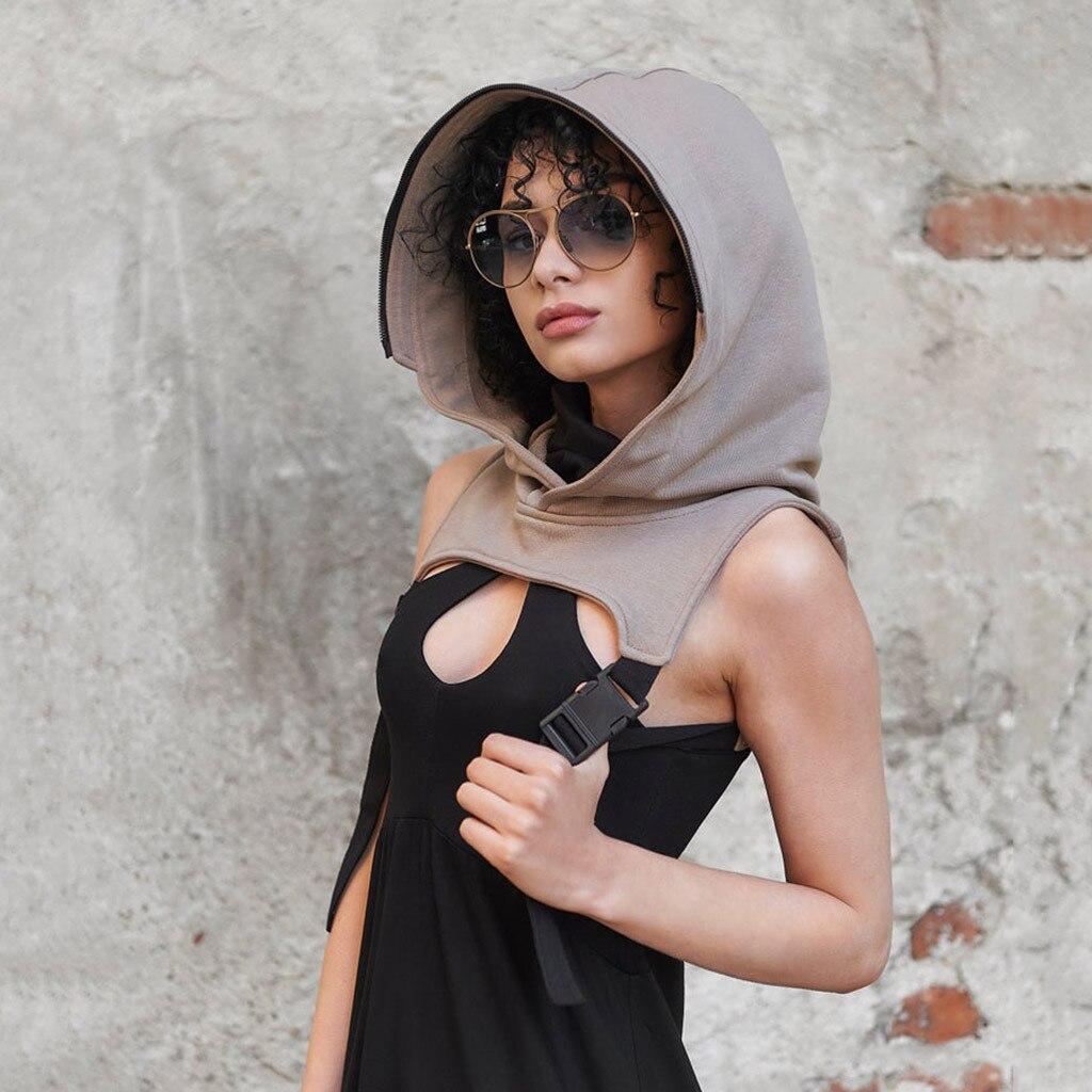 Sombrero de algodón de moda con capucha transparente tocado de adultos removible reutilizable diadema máscara Chapeau Schutzmaske Mascarilla #09