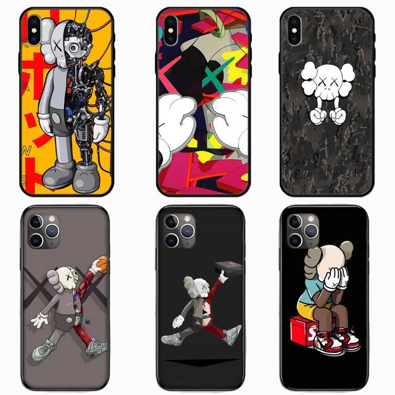 Diseño de lujo kaw chicos funda para teléfono para iPhone 11 Pro X XS X Max XR 5 se 6 6S 7 7 8 Plus, Samsung Galaxy 9 10 S8 S9 S10 S20 A50 Plus Ultra