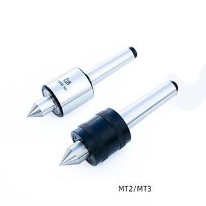 Small lathe movable center lathe rotary center Morse MT2 MT3