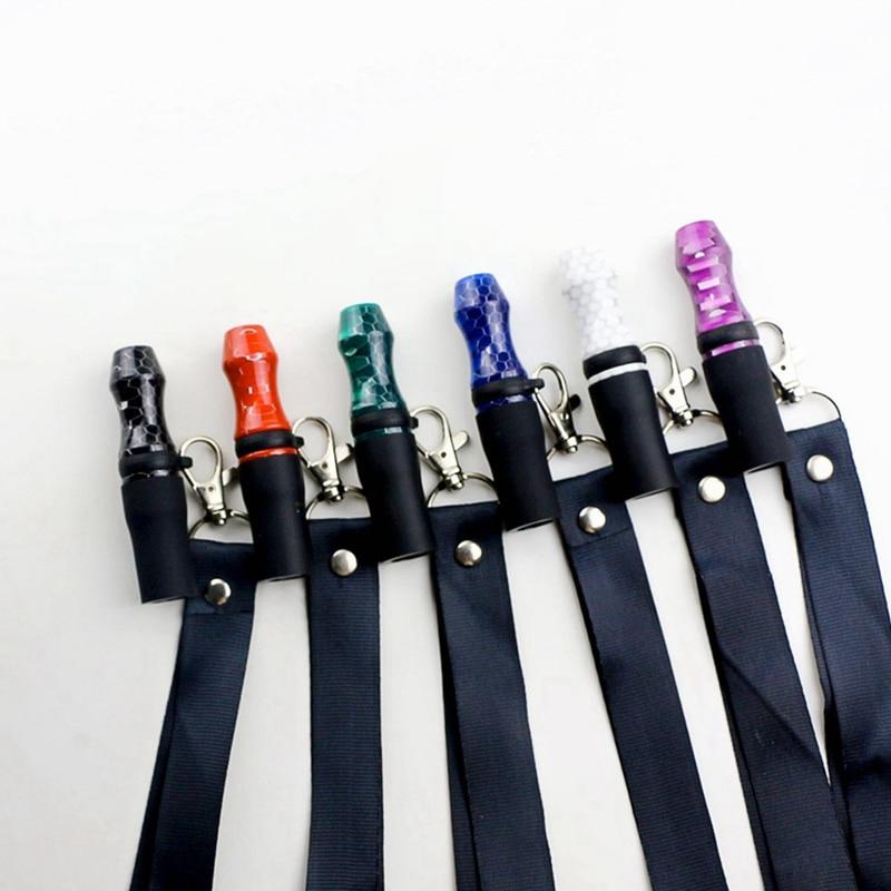 Hookah Reusable Shisha Mouthpieces with Hang Rope Strap Shisha Hookah Mouth Tips Chicha Narguile Wat