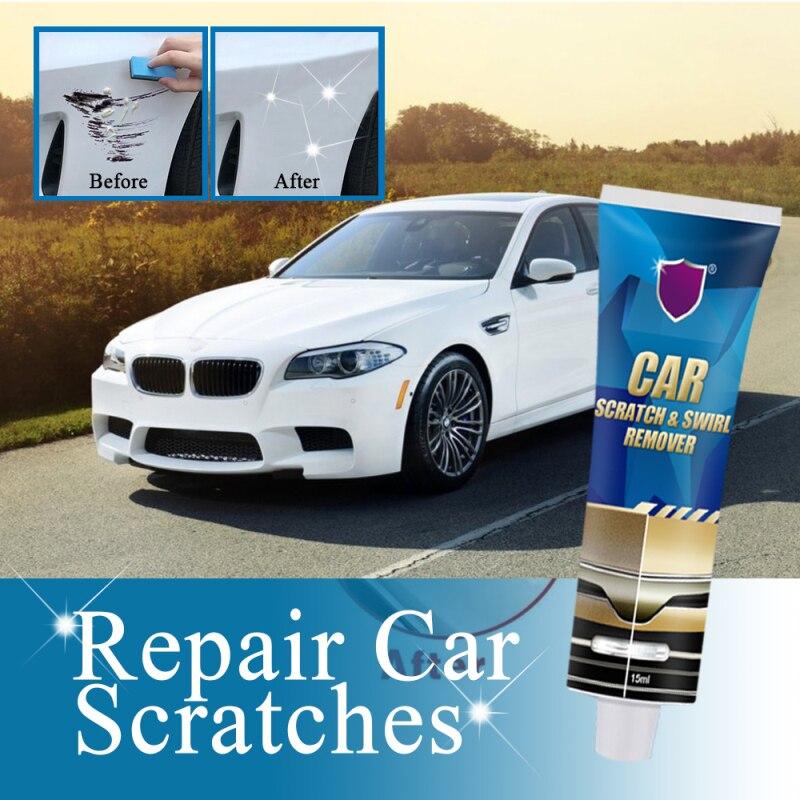 Инструмент для удаления царапин и завитков на автомобиле, восковой крем для удаления царапин и повреждений на автомобиле