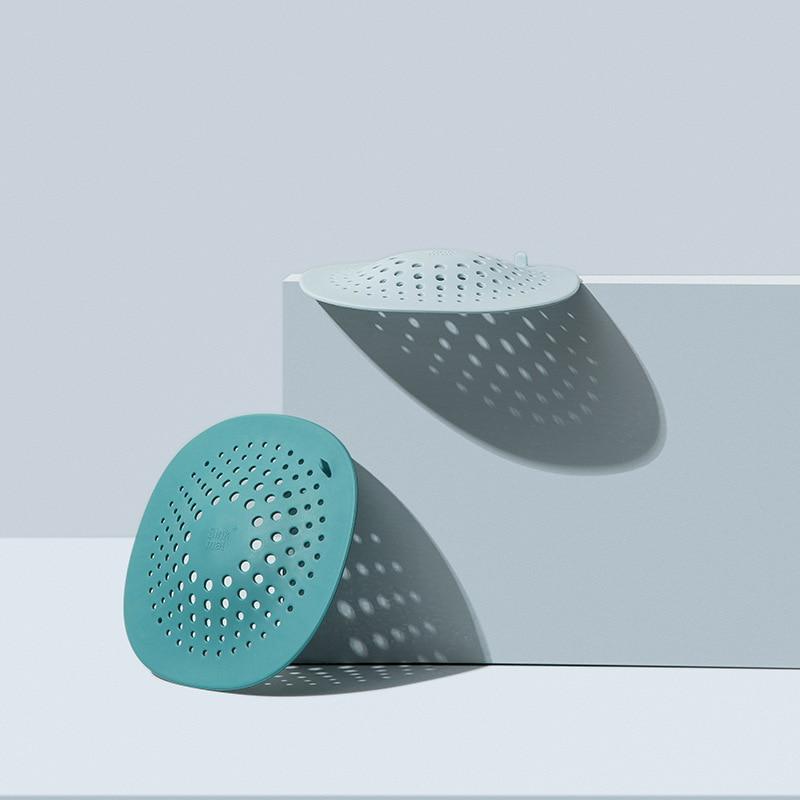 AliExpress - Kitchen Sink Plug Sewer Filter Floor Drain Anti-blocking Hair Filter Artifact Mesh Bathroom Drain Port Silicone