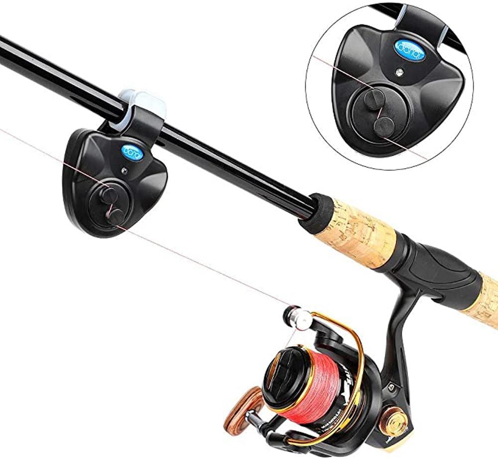 Fishing Bite Alarm Wireless Fishing Alarm Set Electronic Buzzer Indicator LED Sound Alert Night Indicator LED Light Alert