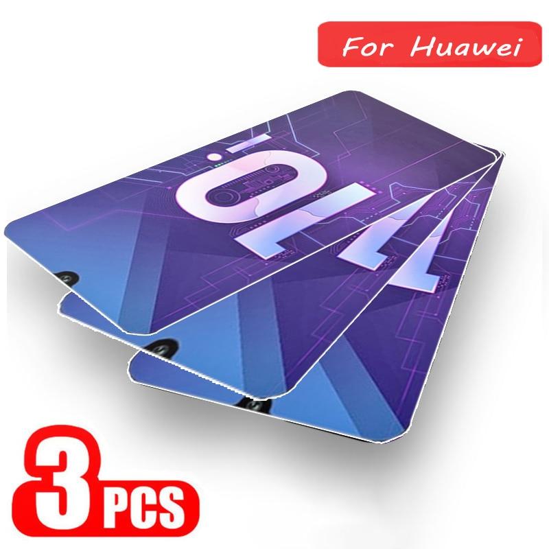 Vidrio de seguridad templado para Huawei Honor 9 Lite 10 Lite Nota 10 20 Pro 9X Honor juego de Protector de pantalla de vidrio para Honor 20 9X Pro P