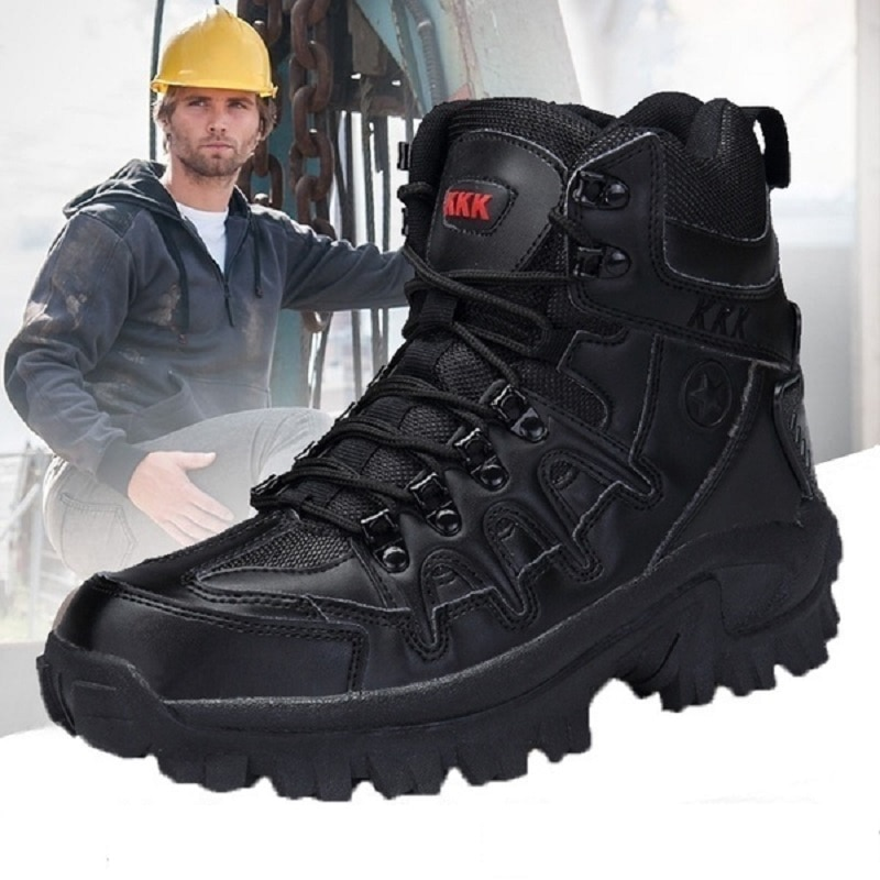 Men Military Tactical Boots Desert Combat Outdoor Army Hiking Shoes Travel Boots Shoes Male Ankle Boots designer men winter military boots male snow fur combat ankle boots waterproof army rain shoes chaussure homme
