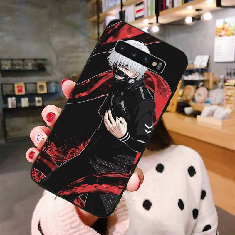Tokyo Ghouls Anime horror boy Phone Cases For Samsung A50 A51 A71 A20E A20S S10 S20 S21 S30 Plus ultra 5G M11 cover funda shell  - buy with discount