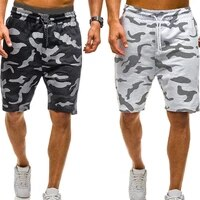 dihope men camouflage shorts casual male hot sale military cargo shorts knee length mens summer short pants homme 2021 new