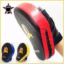 Qualità di elaborazione della Mano Obiettivo Marziali MMA Thai Kick Pad Kit Nero Karate Formazione Mitt Messa A Fuoco Punch Pad Sparring Guantoni Da Boxe Borse