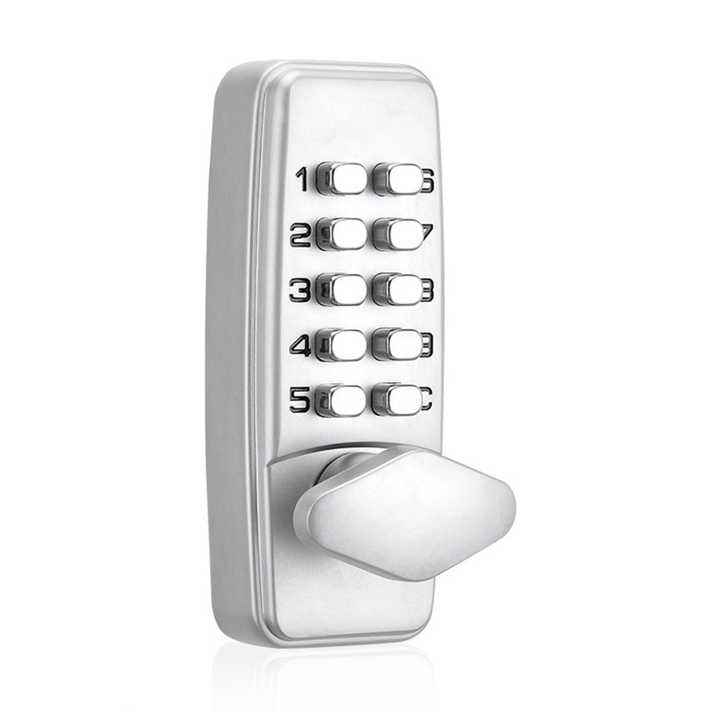 380B الرقمية قفل للباب بكلمة مرور رمز الميكانيكية دخول بدون مفتاح قفل الباب مقاوم للماء غير الطاقة مكافحة الصدأ قفل لباب 30-65 مللي متر