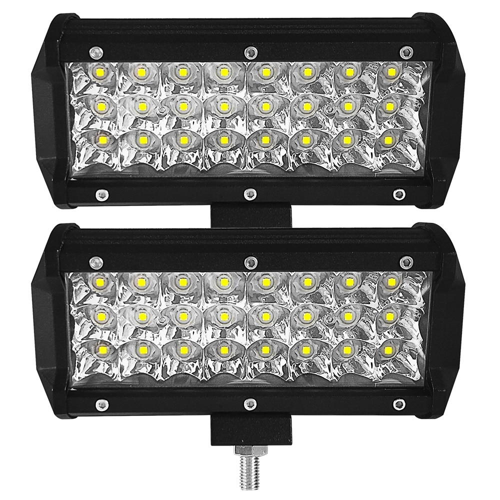 6000K 72W luz de trabajo LED coche Bar de Barra Led para Toyota SUV Tractor Jeep atv 4x4 off road Motocross accesorios de Auto