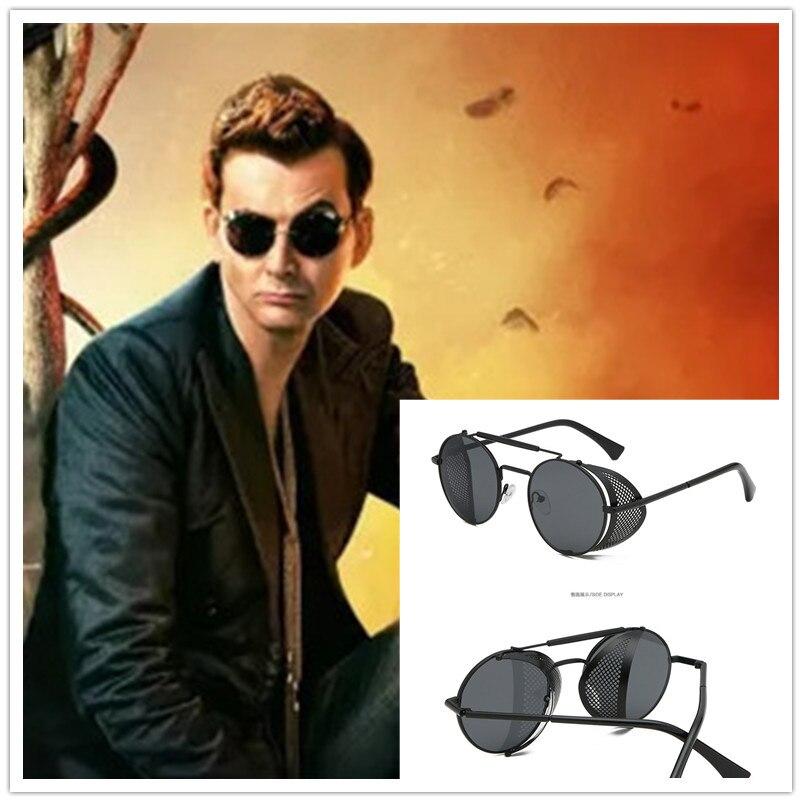 Gafas de sol para hombre, gafas de sol para hombre, Steampunk, 6 colores