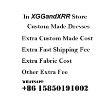 Extra fee in XGGandXRR Store Custom Made Evening Dresses Prom Dress Cost Free Shipping Party Gown Cu
