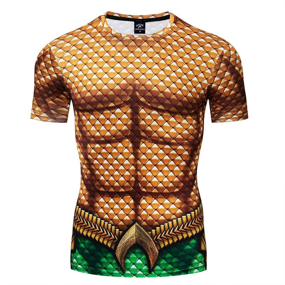 2020 camiseta para hombre, de la marca camisa de compresión shazam superman camiseta 3d estampado de la aptitud divertida camisetas estilo de moda