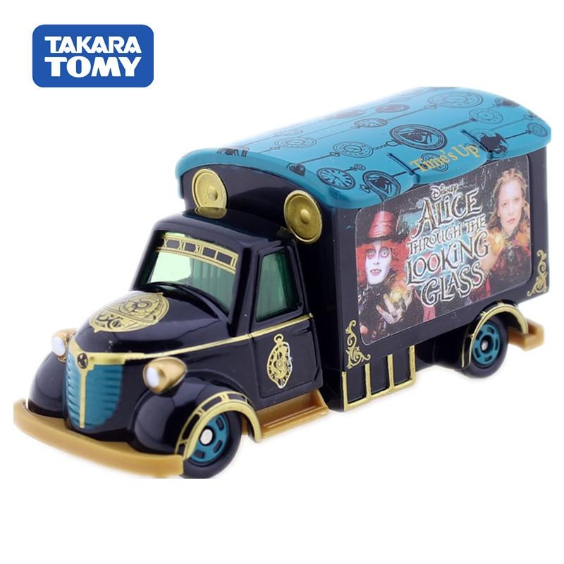 Tomica Disney Motors Goody Carry Alice Through The Lookg Glass Takara Tomy Motors Vehicle Diecast Metal Model  Kids Toys