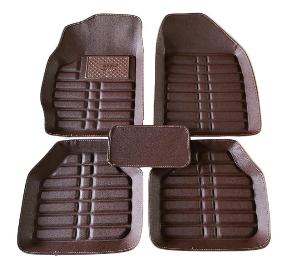 Special Durable Car Floor Mats Brown Black Color For Caterham Seven All Weather Floor Mats
