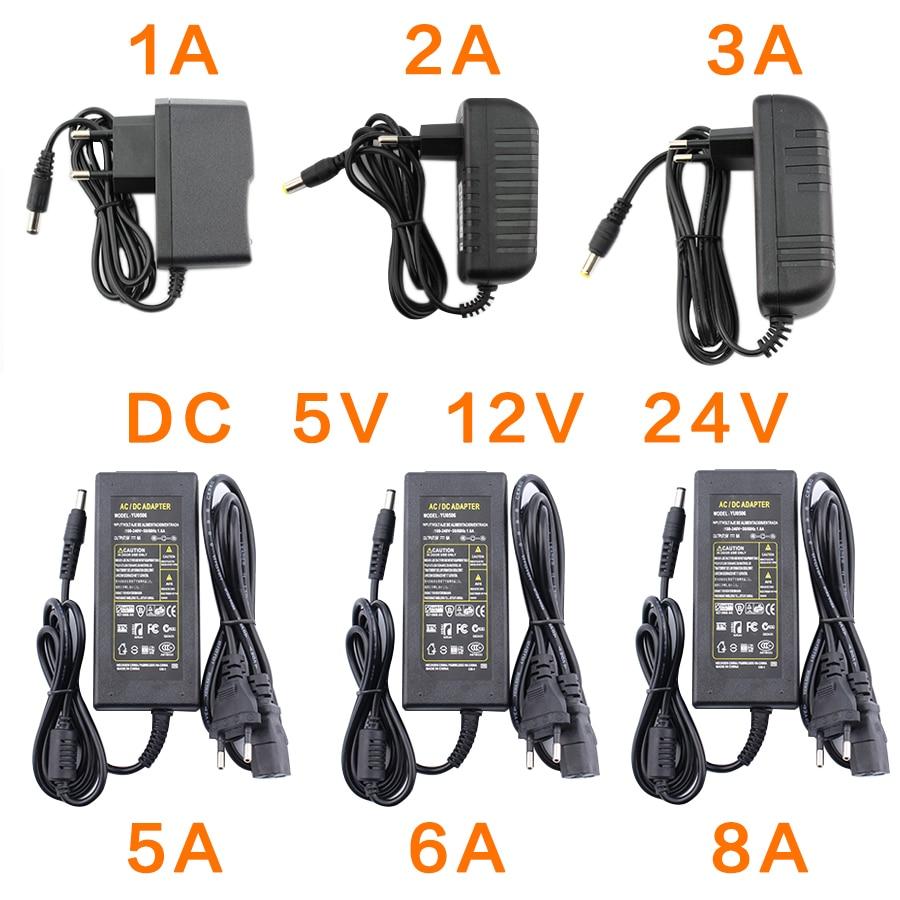 AliExpress - AC DC 12V 5V 6V 8V 9V 10V 12V 13V 14V 15V 24V Power Supply Adapter 1A 2A 3A 5A 6A 8A 220V To 12V Power Supply Adapter LED Driver