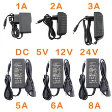 Adaptateur dalimentation batterie 12V 5V 6V 8V 9V 10V 12V 13V 14V 15V 24V   Adaptateur électrique 1A 2A 3A 5A 6A 8A 220V à 12V adaptateur pilote   Pilote