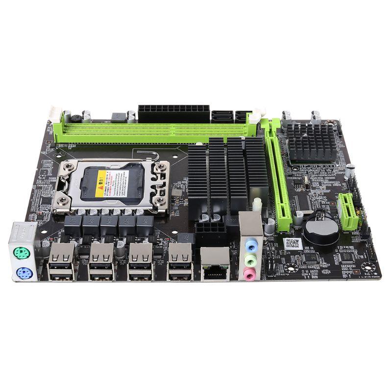 X58 LGA 1366 материнская плата поддерживает серверную память REG ECC и материнскую плату с процессором Xeon