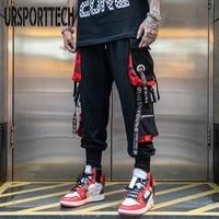 men hip hop streetwear pants summer outdoor jogging tactical techwear male multi pocket sweatpants sport casual trousers
