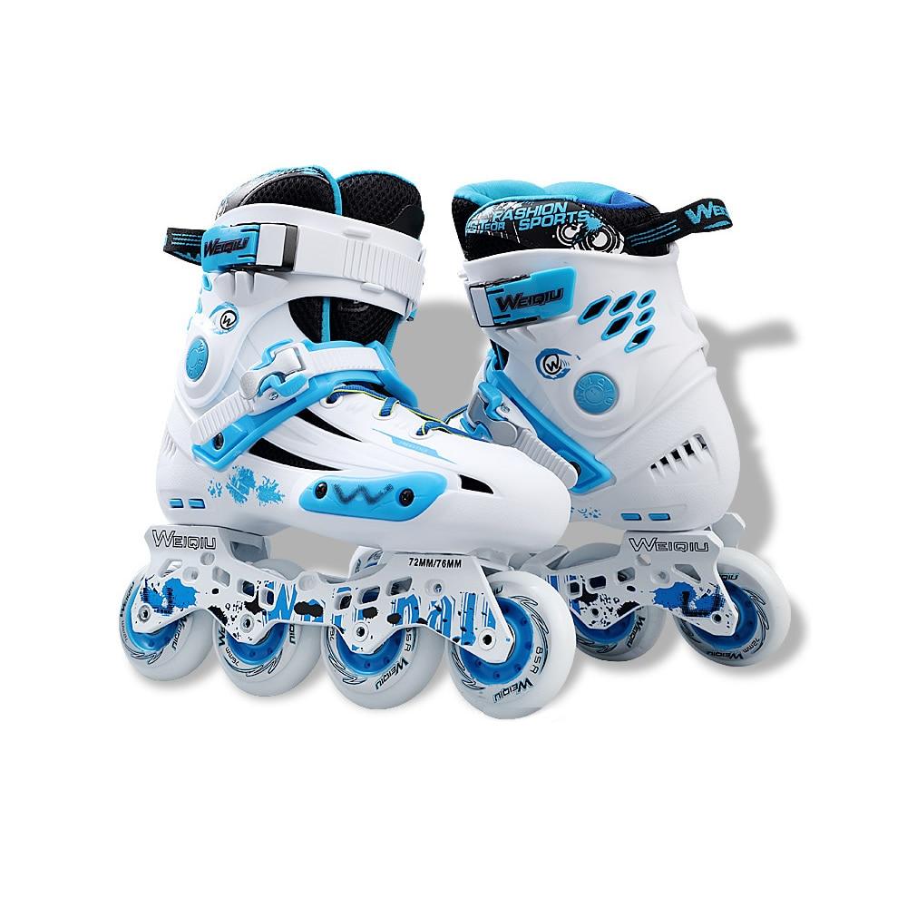 Professional Inline Roller Skate 4 Wheels Shoes Skating Roller Sneaker Adult Slalom Speed Patines Free Skating Racing Skate Men
