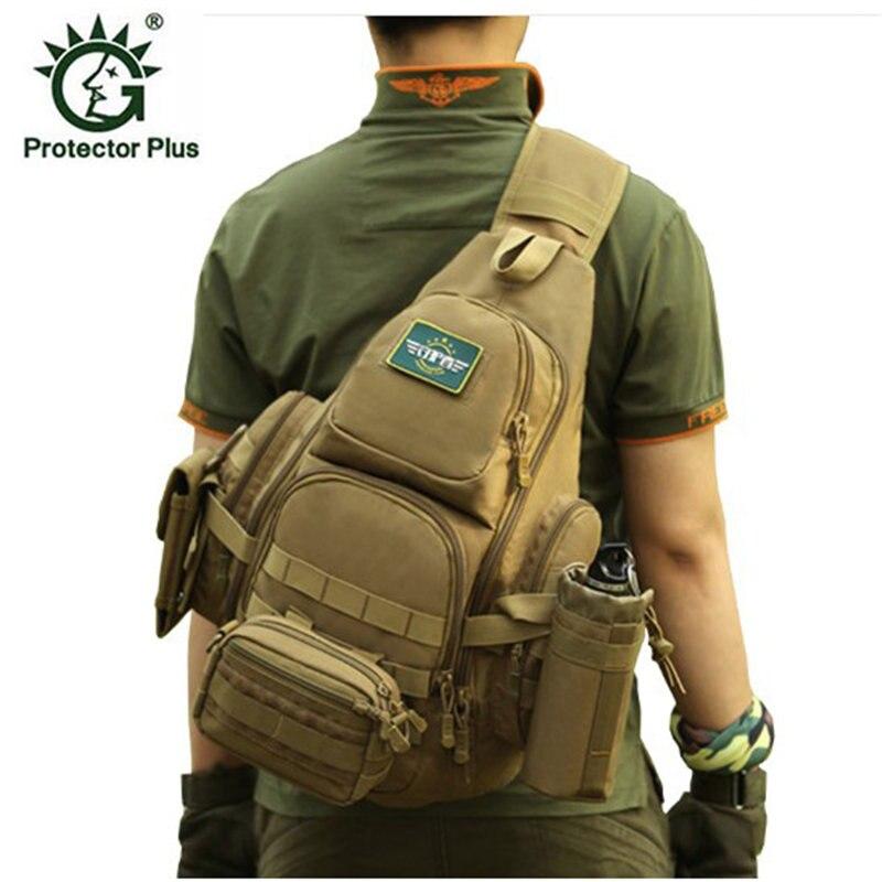 El más vendido militar para hombre, bolsa para el pecho, mochila A4, un solo hombro para hombre, mochila grande de viaje, mochila avanzada