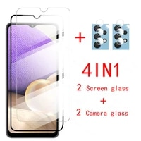 temperd glass for samsung a32 camera lens glass screen protector For samsung galaxy a 32 4g 32a a 32 a325f protector glass film