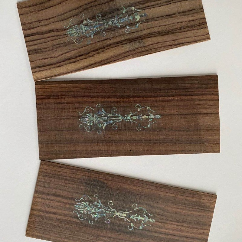 Customizable mother of pearl abalone shell paua shell laminate sheets shell paper furniture inlay guitar accessories enlarge