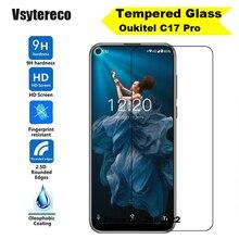 Oukitel C17 Pro vidrio templado de alta calidad 9H película protectora LCD Protector de pantalla para Oukitel C17 Pro teléfono película de vidrio