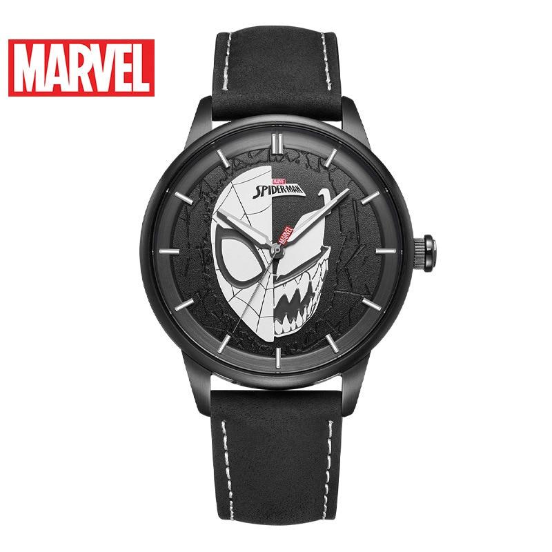 Disney Quartz New Casual Luminous Fashion Personality Venom Spider-Man Watch Marvel Men's Watch