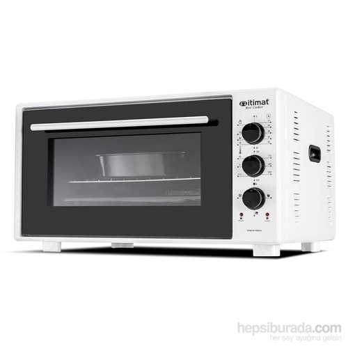 İtimat Timerli Thermostat-Pointed Oven 50 L White