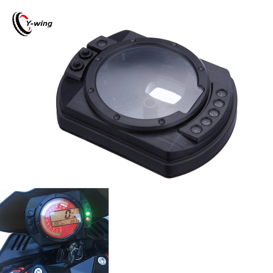 Para kawasaki zx10r zx 10r 2004 2005 zx6r zx 6r z750 z1000 2003-2006 velocímetro tacômetro instrumento calibre relógio caso capa
