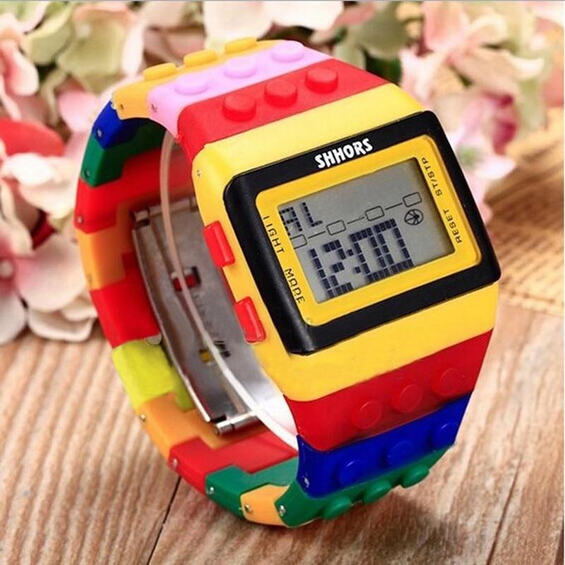 Цветные цифровые наручные часы, мужские часы 2020, мужские часы, женские часы, женские часы, мужские часы, женские часы