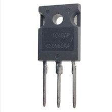 10PCS-20PCS HGTG30N60A4 TO-247 G30N60A4 TO247 G30N60 75A/600V/463W IGBT power tube New and original