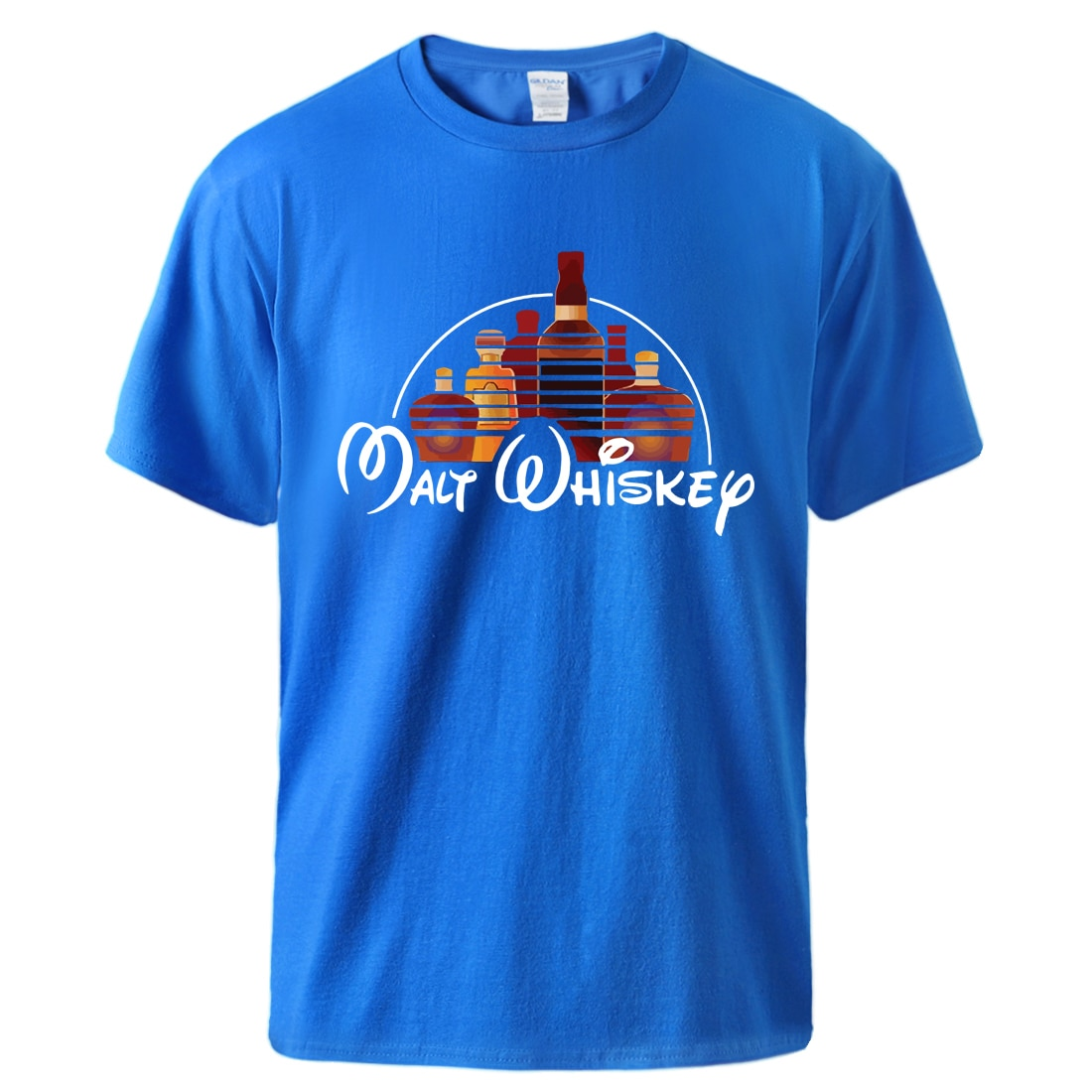 Malt Whiskey Mens Tee Summer Cotton Short Sleeve Tshirts 2020 Male Hot Sell Fashion Sportswear Tshirts Homme Causal Sportswear