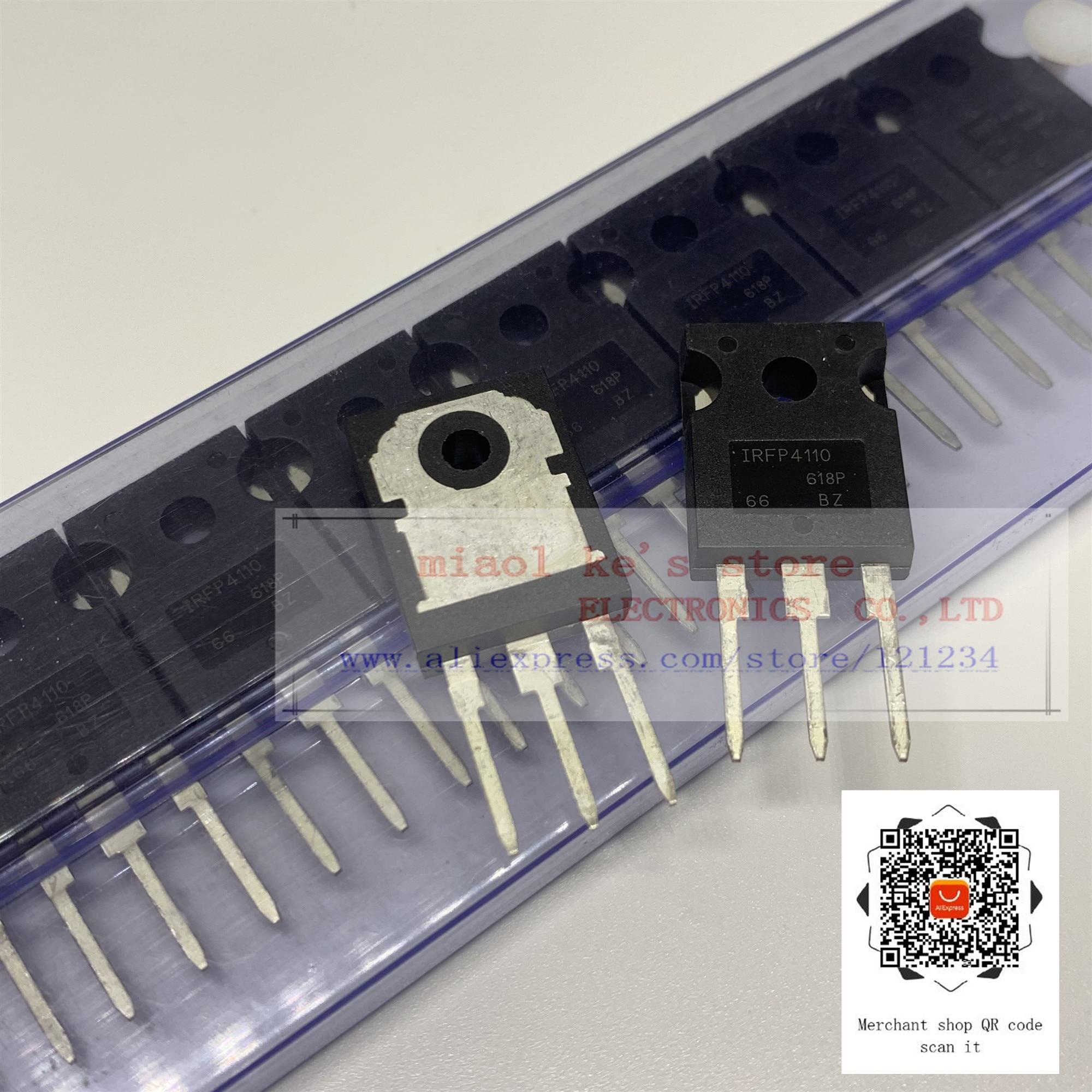 [5 шт. ~ 10 шт.] 100% Новый оригинальный: IRFP4110PBF IRFP4110-MOSFET n-канал 100 в 120A TO-247AC