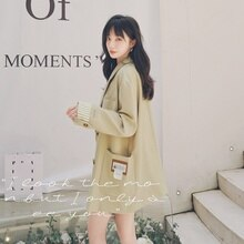 In Stock! Featured Products Loose Small Suit Coat for Women Autumn