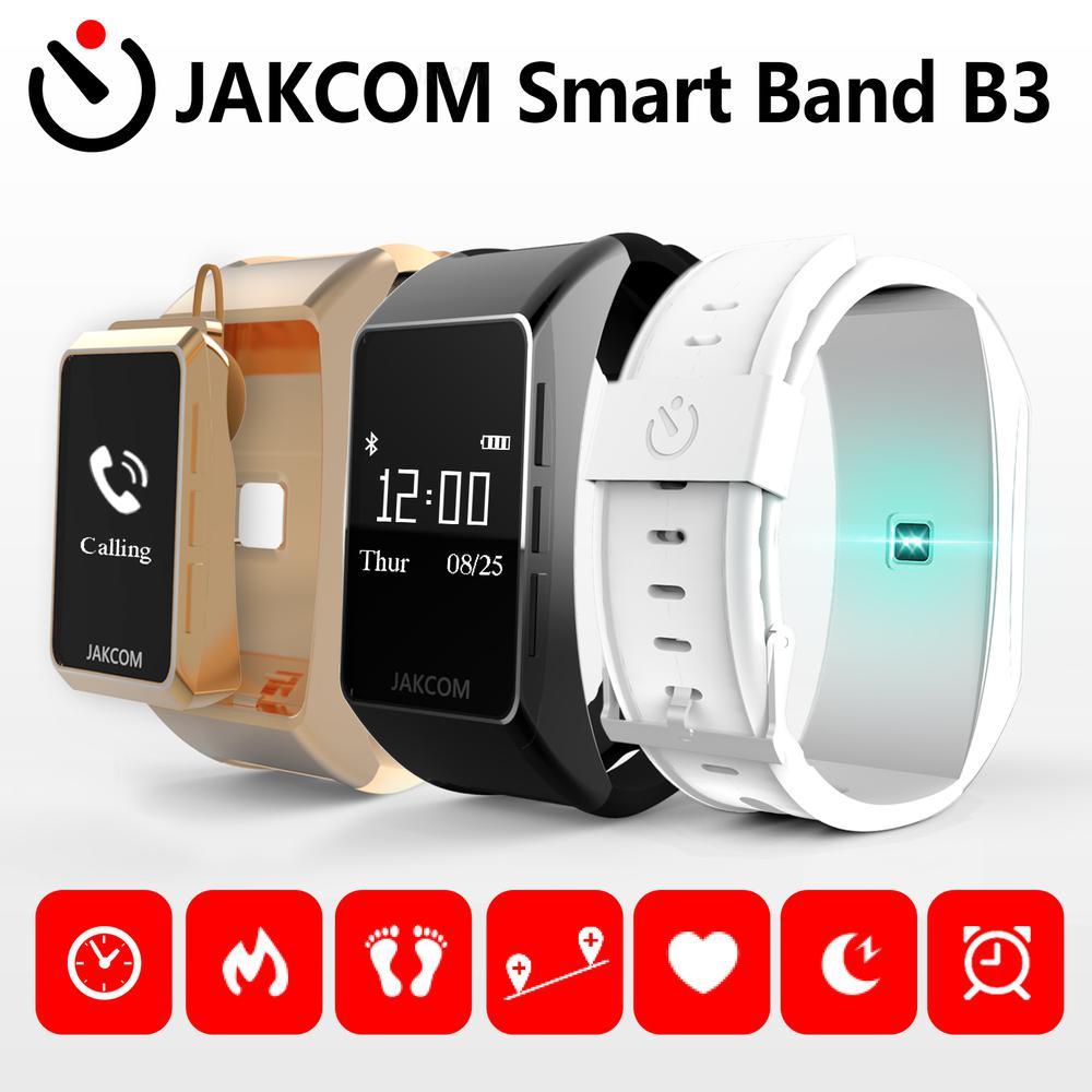 JAKCOM B3 inteligentny zegarek najlepszy prezent z x inteligentny zegarek gt2 północnej krawędzi smartwatch 5 zespół amafit gts bransoletka led
