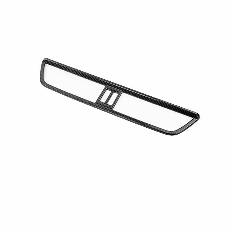 Fit For Porsche Cayenne 2018-2021 Dry Carbon Fiber Middle Console Air Outlet Vent Trim Refit Accessories enlarge