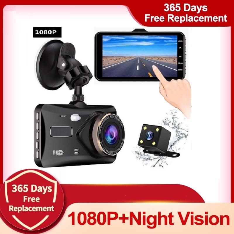 jltart Dash cam Dual Lens car dvr HD 1080P4