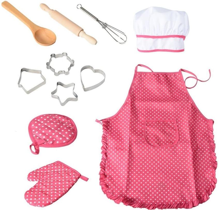 11 шт., детский набор для приготовления пищи и выпечки